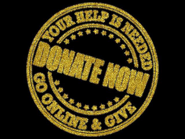 Donate Now Emblem