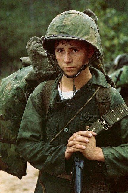 Vietnam War Soldier